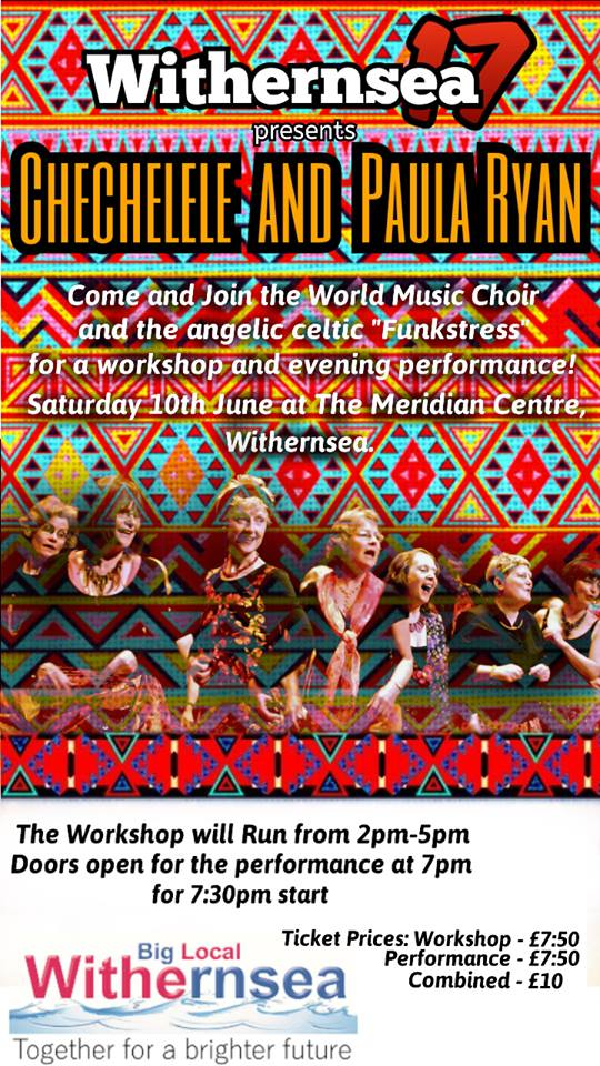 Chechelele in Withernsea | Hull Community Voices Choir